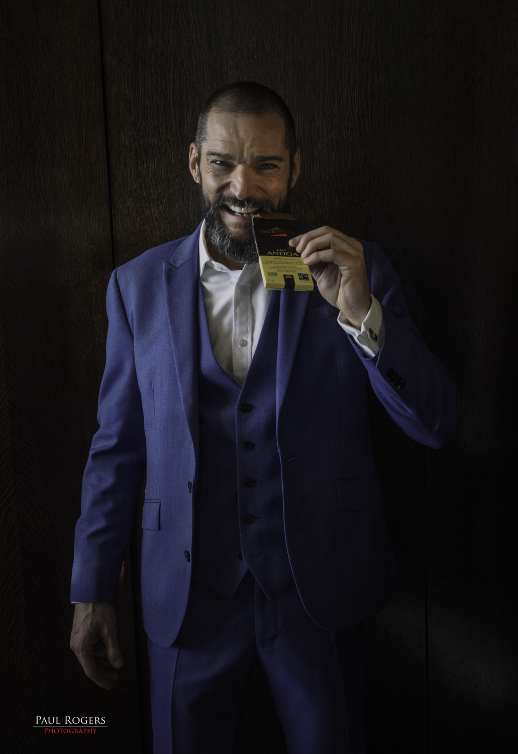 Chocs For Chance Photo Shoot Fred Sirieix